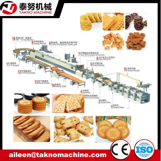 Full Automatic Biscuit Product Line Tn 600 pictures & photos