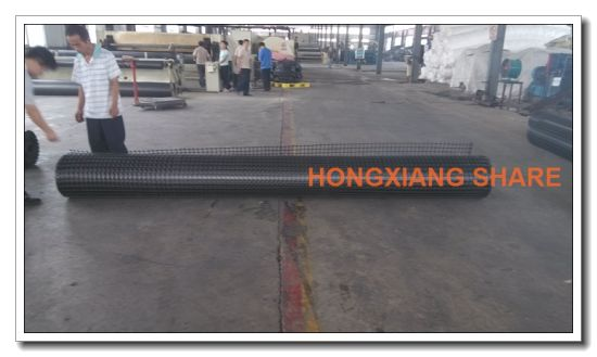 Steel-Plastic Composite Geogrid for Road Railway Highway Tunnel pictures & photos