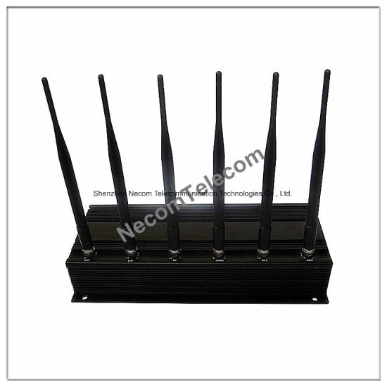 Adjustable Stationary 6bands 3G/4G Lte, GPS, Lojack Cellphone Jammer/Blocker pictures & photos