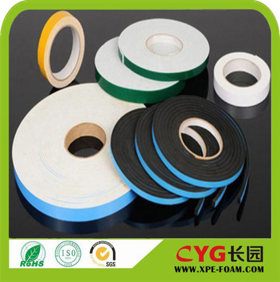 0.2mm, 1mm, 2mm 3mm Super Thin PE Foam Tape Use Sealing Foam PE Polyethylene Foam pictures & photos
