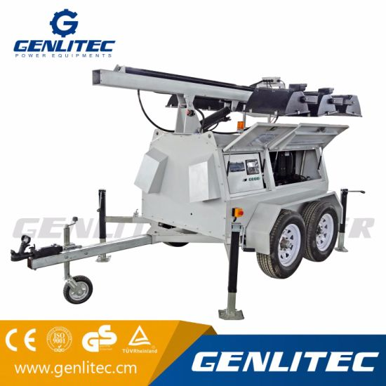 Heavy-Duty Mobile Lighting Tower for Oil Field or Mine Site (GLT9000-9H) pictures & photos