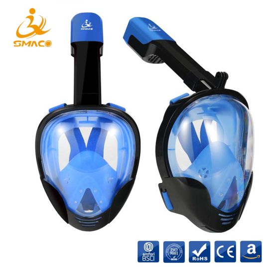 d42428bcd Adults Kids 180 Degree Full Face Foldable Snorkel Swimming Diving Mask