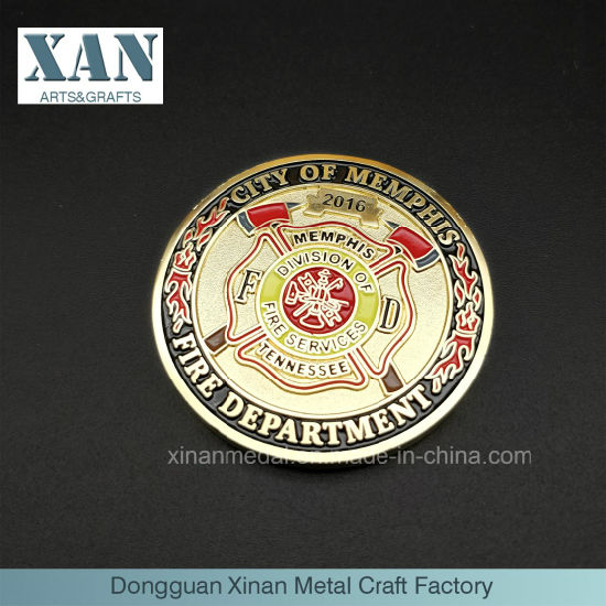 The Hot - Selling Factory Customizes Two - Sided Metal Enamel Coins