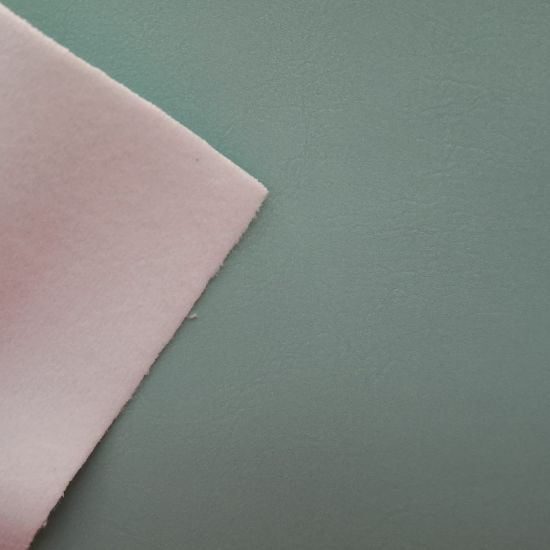Zero-Solvent Eco-Friendly PU Leather Fabric for Making Sofa&Chairs, Furniture. pictures & photos