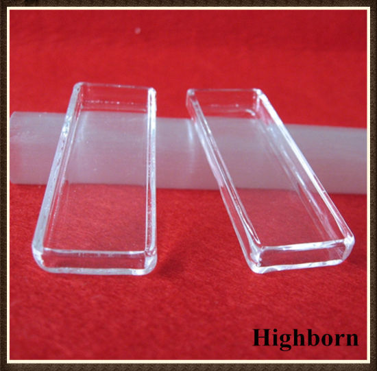 Clear Square Shape Silica Quartz Crucibles for Melting Supplier pictures & photos
