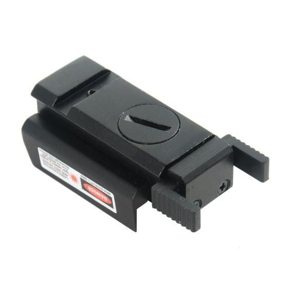 Red Dot Laser Sight 20mm Picatinny Weaver Rail Mount For Pistol Gun Compact New