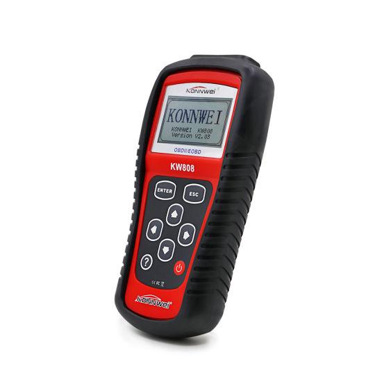 Car Scanner Tool EOBD OBD2 OBDII Diagnostic Engine Fault Code Reader Scan KW808