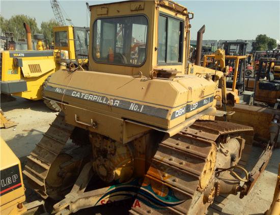 China Used Original Caterpillar Bulldozer D6h LGP Cat