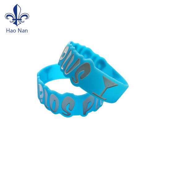 Factory Custom Design Silicome Wristband with Wedding