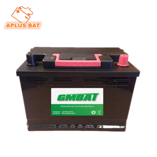 12V68ah Recharegable Wet Acid Storage Maintenance Free Car Batteries 56821 pictures & photos