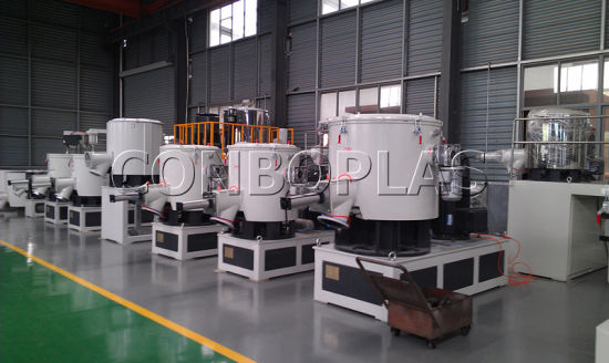 Plastic High Speed Heating Cooling New WPC PVC Powder Resin Mixer Machine pictures & photos