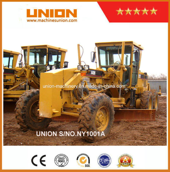China Used Caterpillar 140h Motor Grader with Ripper Cat 140h