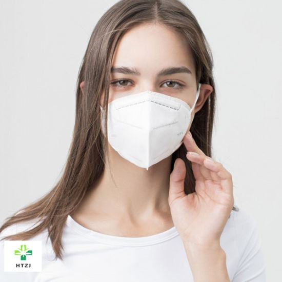 Factory Wholesale Price Disposable Nonwoven Melt-Blow Folding Half 4ply P3 Face Mask Respirator for Adults and Children