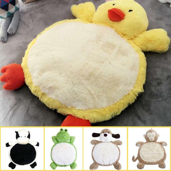 Baby Creeping Mat Crawling Soft Plush Stuffed Animal Gift