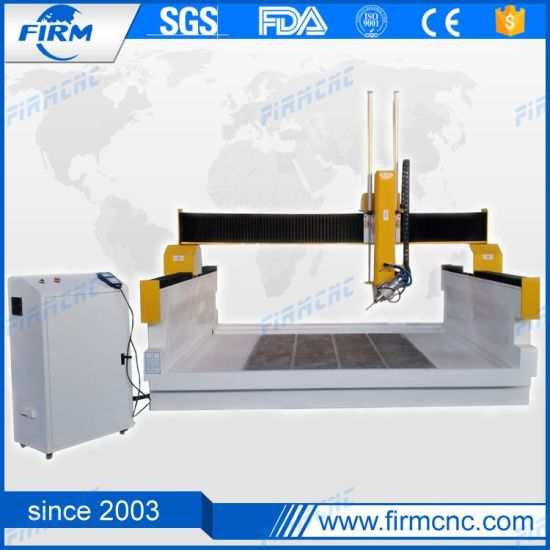 China Automatic CNC Machine 4 Axis CNC Wood Router with Servo Motor