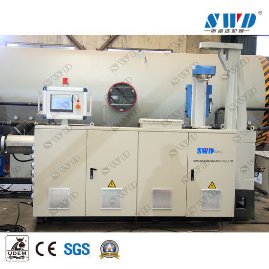 Plastic HDPE PE Pipe Extrusion Making Machine / Production Line