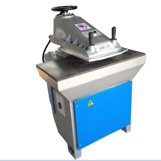 Hydraulic Swing Arm Leather Belt Cutting Machine