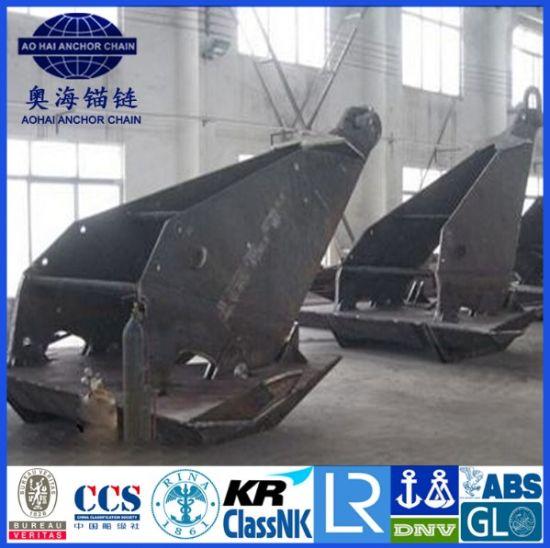 ABS / LR Offshore Ship Stevpris MK5 Anchor Black Bitumen