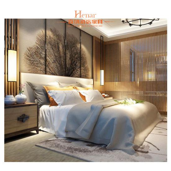 Hyatt Luxury Presidential Bedroom Set of Hotel Furniture
