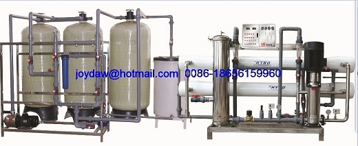 4000L/H RO System Reverse Osmosis Water Filter Water Treatment Line pictures & photos
