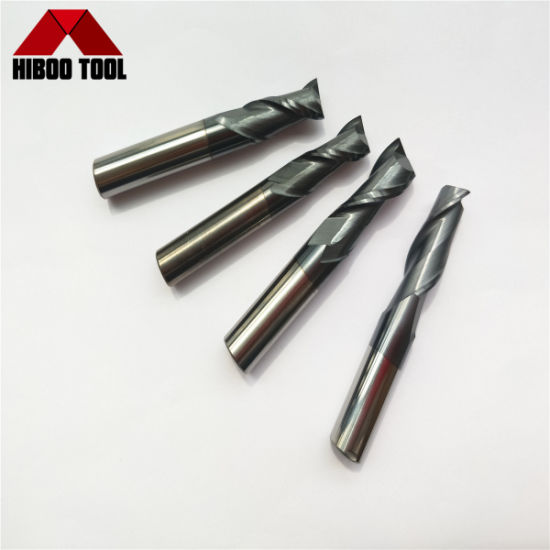 Factory Hot Sale Carbide Flat End Milling Cutters