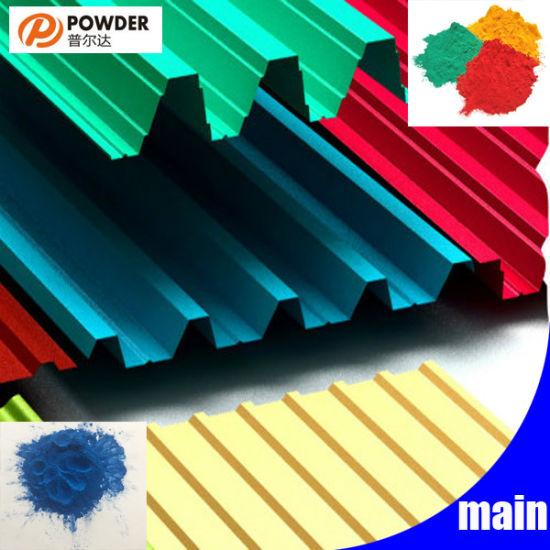 Custom Color Coating Powder for Aluminium Building Material