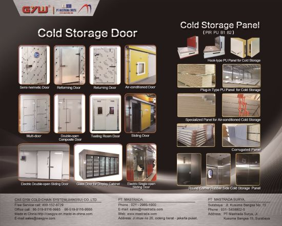 Air-Condiction PU Sandwich Metal Panel Cold storage Freeze Fish pictures & photos