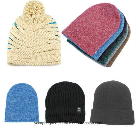 72b5d1c5fd9 China Various Style Custom Made Unisex Winter Knit Cap