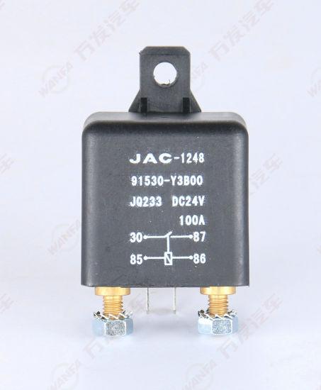 JAC Truck Clutch Parts CD Relay 91530 Y3b00