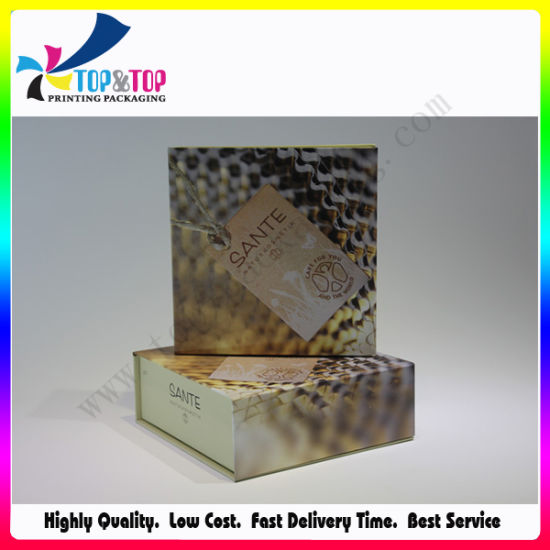 OEM Paper Box Screen Printing Recycled Cosmetic Packaging pictures & photos