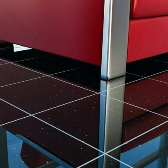 Wholesale 15mm Polished Quartz Stone Bathroom Wall Floor Tile (Q1705042)