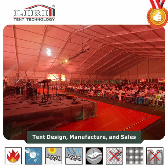China 20X100m Trade Show Tent with A/C Air Conditioner