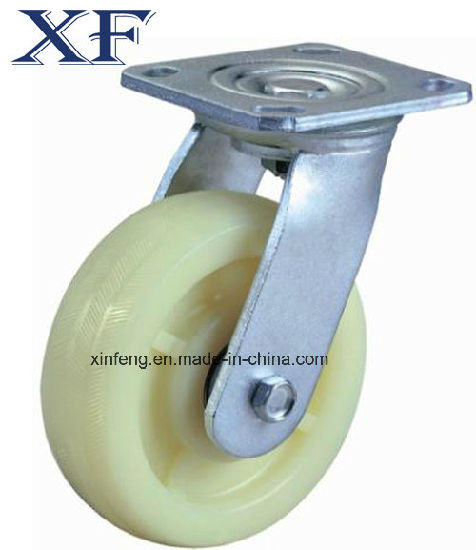 Black PU Swivel Wheel for Cart &Shipping Cart pictures & photos