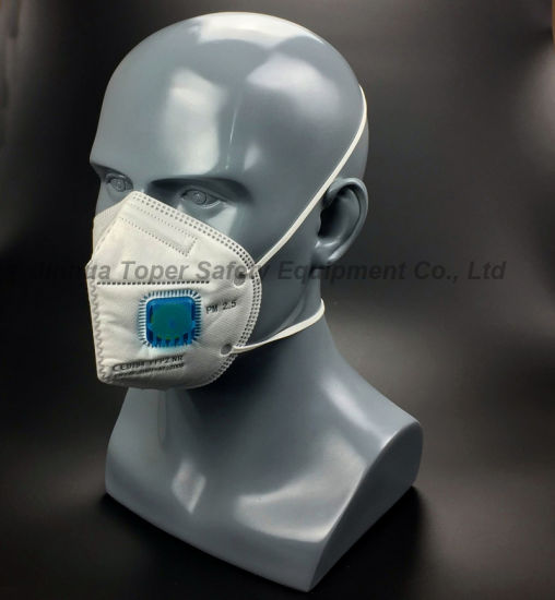 "Fold Flat ""C""Type Dust Mask Particulate Respirator (DM2017) pictures & photos"