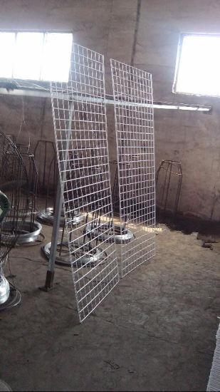 China Wire Mesh Display Panel/Powder Coating Metal Wire Grid Panel ...