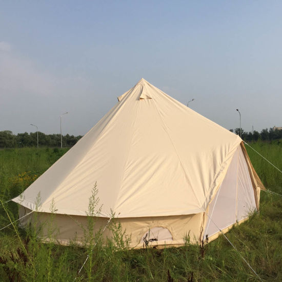 5m Cotton Canvas Gl&ing Luxury Bell Tent for Hotel & China 5m Cotton Canvas Glamping Luxury Bell Tent for Hotel - China ...