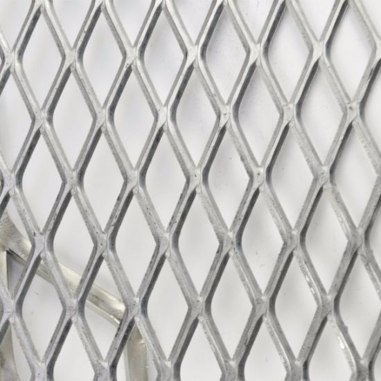 China 304 Stainless Steel Mesh Panel Expanded Metal Wall Panel ...