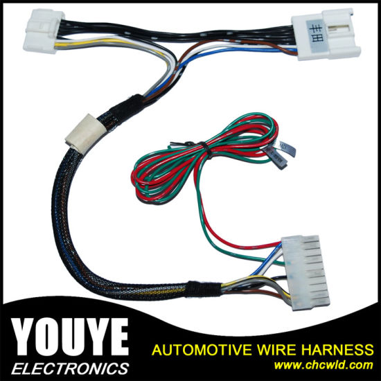 China Toyota T Type Automotive Wire Harness - China Wire Harness ...