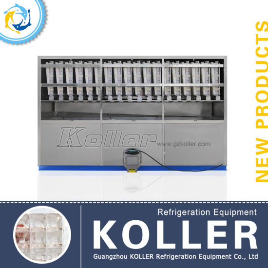 Koller 5tons PLC Controller Automatic Ice Cube Machine in Hot Area pictures & photos