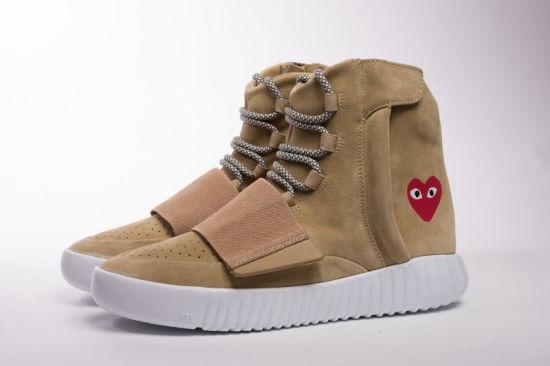 énorme réduction 07e8f ffc45 2017 Originals Yeezy Boost 750 Running Shoes 4 Colors Fashion Ankle Boost  Men&Women High Shoes Wrap Sneakers Sport Shoes