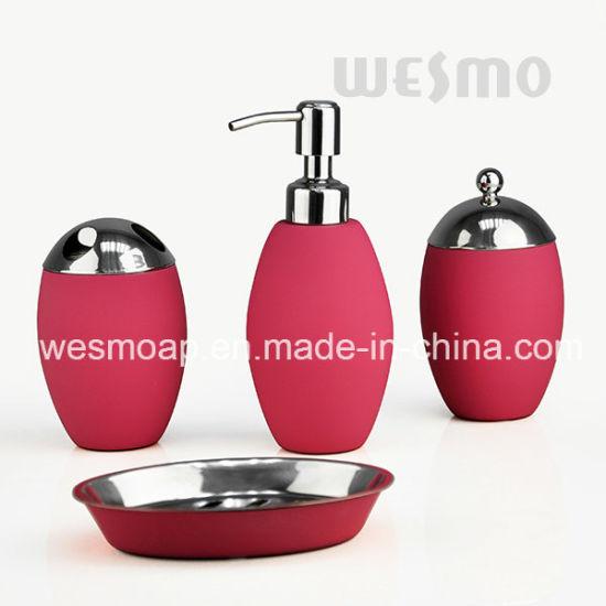 Rose Gold Stainless Steel Bathroom Set (WBS0812E)