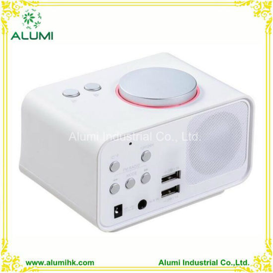 Digital Alarm Clock Hotel for iPhone and Android Player