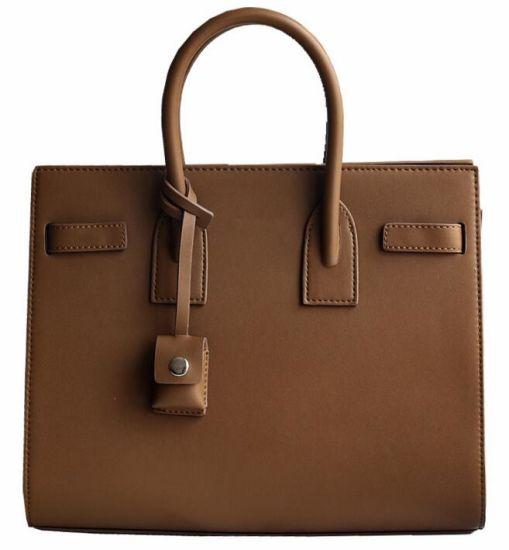 Las Handbag Fashion Designer Genuine Leather Tote Bag