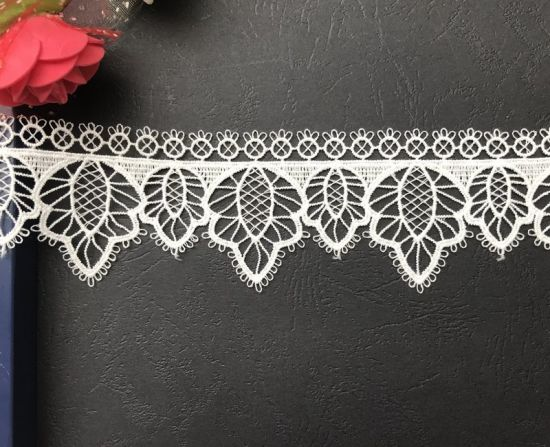 New Embroidery Lace, Factory Price Chemical Polyester Lace