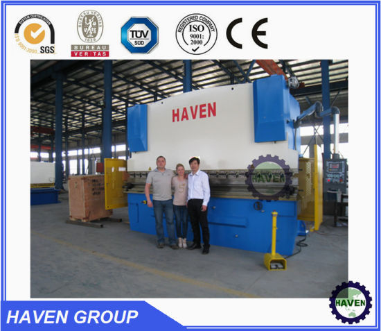 HYDRAULIC PLATE BENDING MACHINE pictures & photos