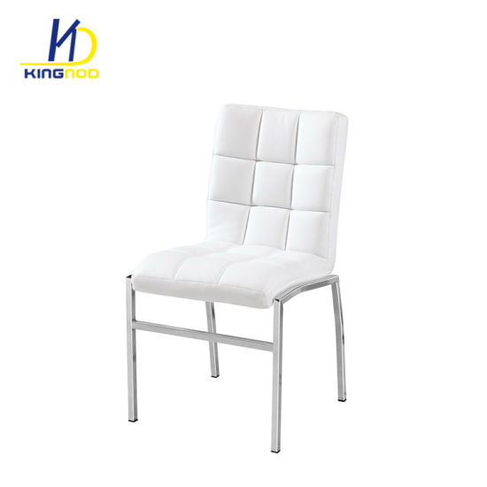 Pleasant China Modern Classic Chromed Metal Leg Leather Dining Chair Unemploymentrelief Wooden Chair Designs For Living Room Unemploymentrelieforg