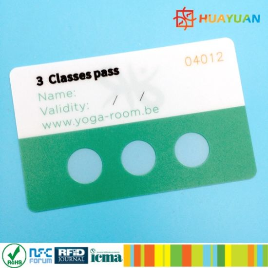 13.56MHz MIFARE Classic 1K RFID hotel room key card pictures & photos