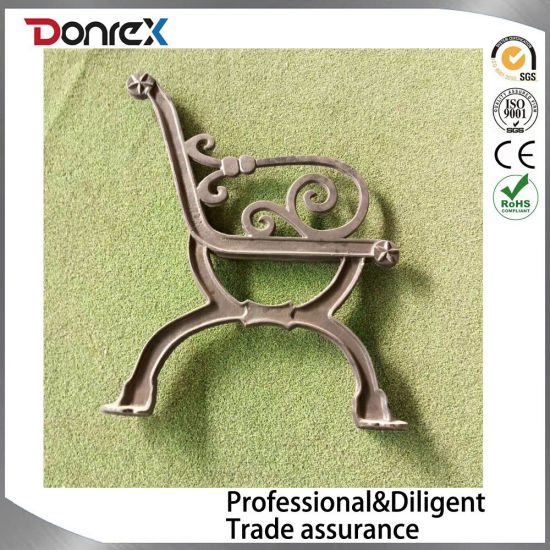 China Park Bench Parts Made By Sand Casting Method China Bench