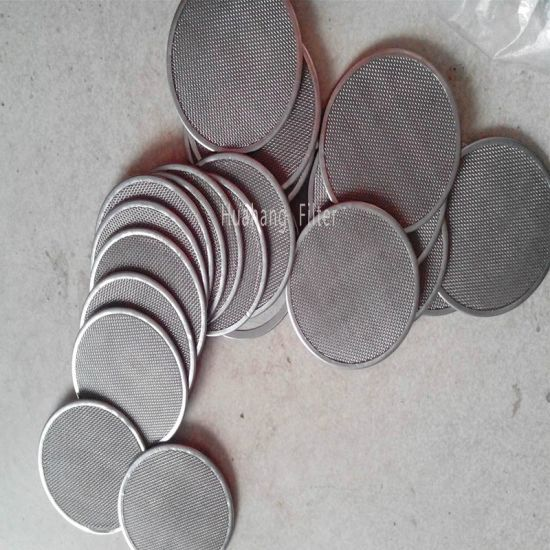 Stainless steel wire mesh disc SPC filter disc