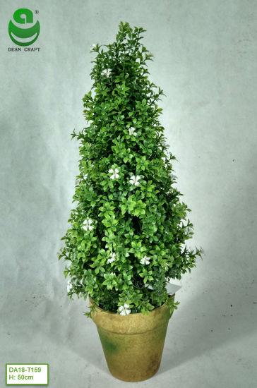 0.5m PE Artificial Green Plants for Decoration - Bonsai Trees - Flower